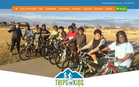 Screenshot of Terms Page tripsforkidsdenver.org - Terms of Use - Trips for Kids Denver Metro - captured Oct. 20, 2018