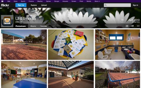 Screenshot of Flickr Page flickr.com - Flickr: URBImedia's Photostream - captured Oct. 23, 2014