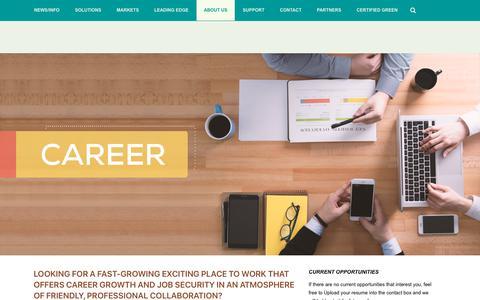 Screenshot of Jobs Page nor-tech.com - Technology Career Opportunities at Nor-Tech - Nor-Tech - captured April 14, 2019