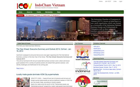 Screenshot of Home Page Privacy Page indochamvn.com - IndoCham Vietnam - captured Oct. 4, 2014