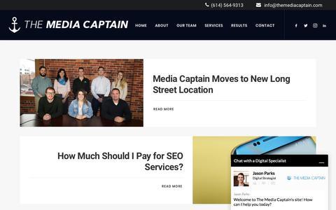 Blog - Fastest Growing Columbus Digital Marketing Agency [Media Captain]