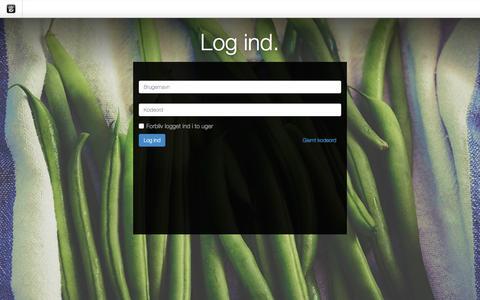 Screenshot of Login Page quick-pack.dk - QP Erhvervspakkeri :: Login - captured Nov. 16, 2016