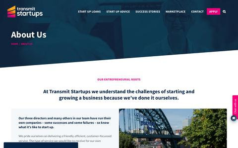 Screenshot of About Page transmitstartups.co.uk - About Us | Transmit Start-Ups - captured Feb. 23, 2020