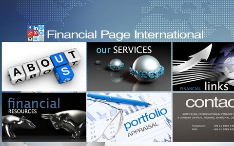 Screenshot of Contact Page fpi.hk - Financial Page International Home - captured Oct. 5, 2014