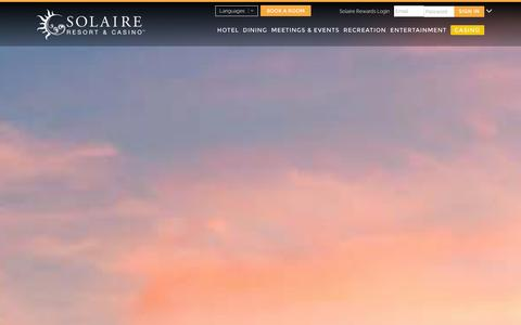 Screenshot of Jobs Page solaireresort.com - Careers - Solaire - captured Jan. 19, 2016