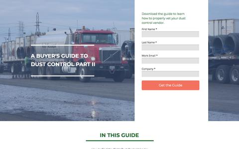 Screenshot of Landing Page midwestind.com captured April 1, 2018