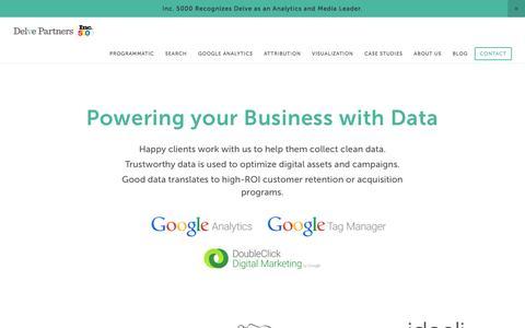 Delve - the Data Agency
