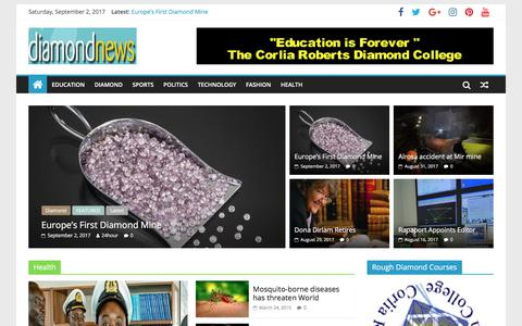 Diamond News - Diamond Prices, Jewellery News and Education