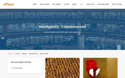 Screenshot of Blog getmobee.com - Blog | Mobee - captured Feb. 21, 2016