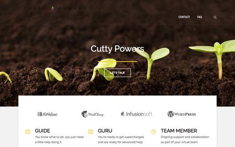 Cutty Powers | Advanced Digital Marketing