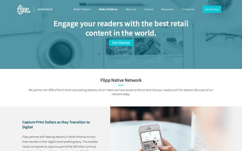 Flipp - Reimagine the Weekly Shopping Experience