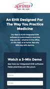New Landing Page Aprima Medical Software, Inc.