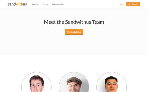 About Sendwithus · Email innovation · Sendwithus · sendwithus