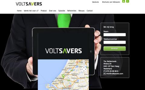 Screenshot of Contact Page voltsavers.com - Contact - Voltsavers -  Voltsavers - captured Oct. 26, 2014