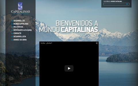 Screenshot of Home Page capitalinas.com - Home | Capitalinas - captured Oct. 8, 2015