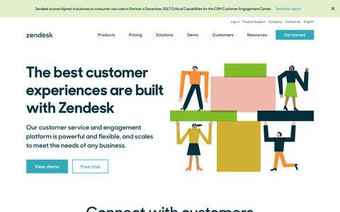 Zendesk | Customer Service Software & Support Ticket System