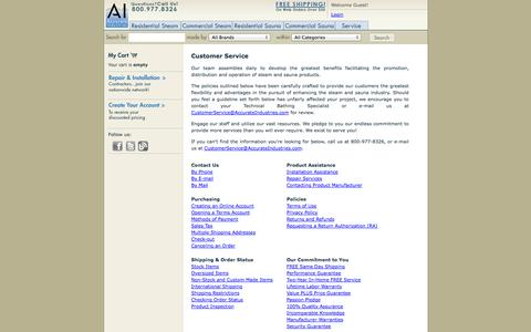 Screenshot of Privacy Page Support Page accurateindustries.com - Team  - AccurateIndustries.com - captured Sept. 30, 2014