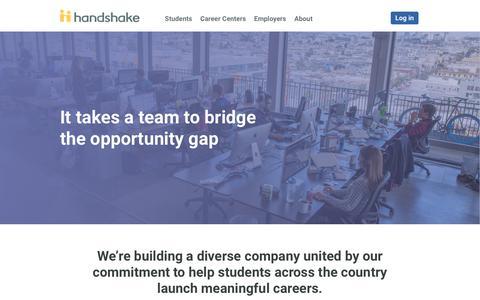 Careers | Handshake