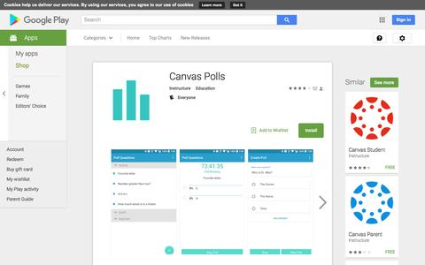 Canvas Polls - Android Apps on Google Play