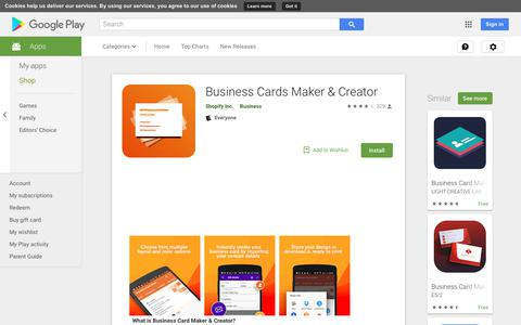 Business Cards Maker & Creator - Apps on Google Play