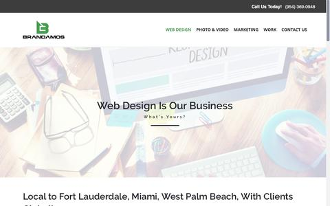 Fort Lauderdale Web Design Company - Wordpress, HTML, Magento