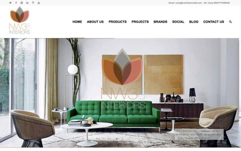 Screenshot of Home Page nw3interiorsltd.com - NW3 Interiors ltd - captured Aug. 11, 2015