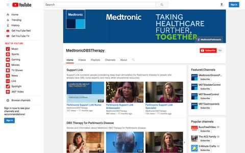 MedtronicDBSTherapy  - YouTube
