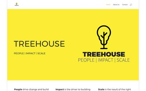 Screenshot of Home Page thetreehouse.co - Home - Treehouse - captured Aug. 1, 2017