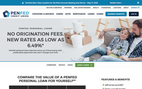 Personal Loans From $500 - $25,000