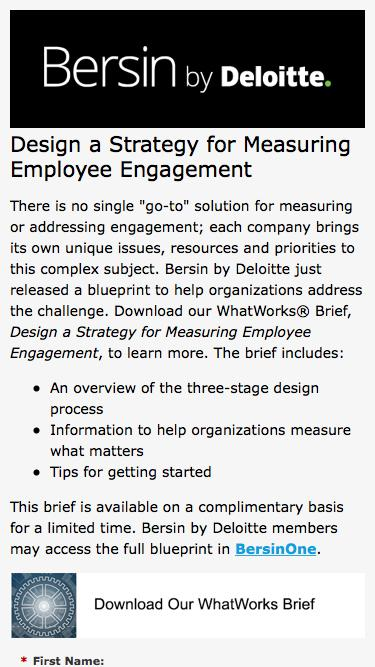 Design a Strategy for Measuring Employee Engagement