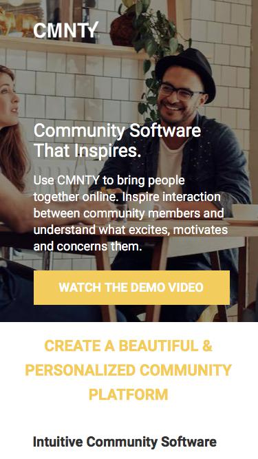 Community Software that Inspires Interaction