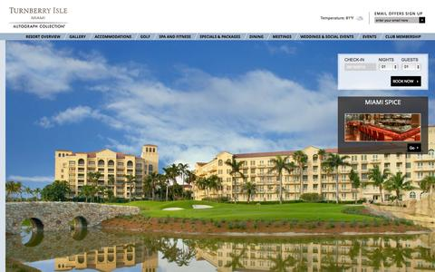Screenshot of Privacy Page turnberryislemiami.com - Privacy Policy | Turnberry Island Resort | Miami, FL - captured Sept. 19, 2014
