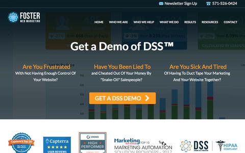 Promotion: DSS Demo | Foster Web Marketing