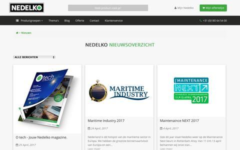 Screenshot of Blog nedelko.nl - Nedelko - captured May 10, 2017