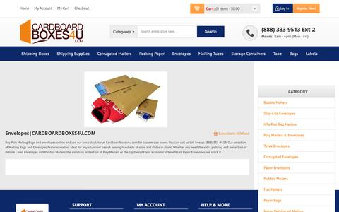 Screenshot of Jobs Page cardboardboxes4u.com - Poly Mailing Bags | Mailing Bags & Envelopes, Jiffy Mailing Bags - captured Dec. 14, 2018