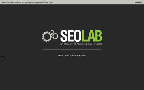 Seolab - An element of Alkemy Digital Enabler
