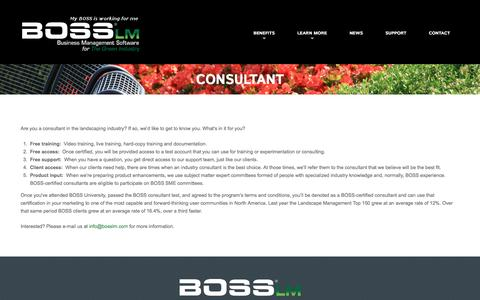 Consultant  |  BOSS LM