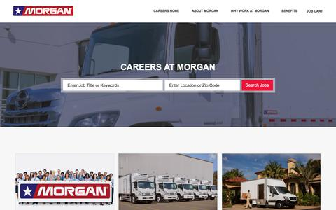 Screenshot of Jobs Page morgancorp.com - Careers at Morgan Truck Body LLC | Morgan Truck Body LLC jobs - captured Oct. 18, 2018
