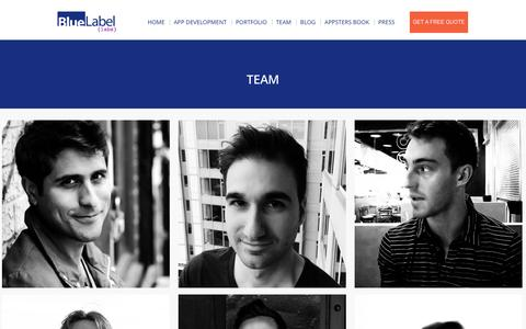 Team - Blue Label Labs
