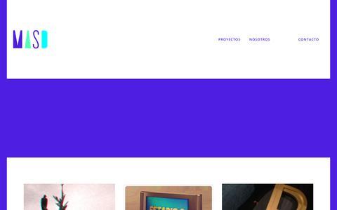Screenshot of Blog masdeseisosiete.com - blog - masdeseisosiete - Comunicación, diseño gráfico y publicidad - captured July 26, 2018