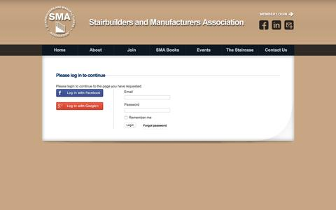 Screenshot of Login Page stairways.org - SMA - Authorization required - captured Dec. 2, 2016