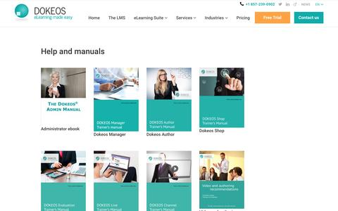 Help and manuals -