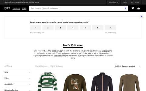 Shop Men's Knitwear