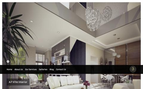 Screenshot of Home Page a3d.com.my - A3D International | Malaysia Architectural 3D Rendering & 3D Animation Company - captured Oct. 4, 2014