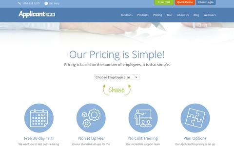 Pricing - ApplicantPro