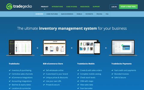 Inventory Management System | TradeGecko