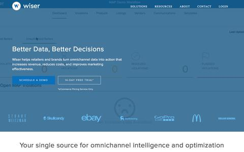 Omni-Channel Retail Pricing, Promotions, & Assortment | Wiser