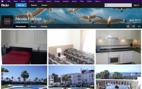 Screenshot of Flickr Page flickr.com - Flickr: Butterfly Residential 2's Photostream - captured Oct. 23, 2014