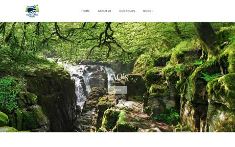 Screenshot of FAQ Page heartlandtravel.co.uk - FAQ's | Small Group Tours St Andrews Departure | 3 Day Tours Of Loch Ness - Heartland Travel - Tours of Scotland - captured July 18, 2018