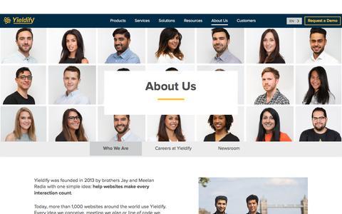 Who We Are | Yieldify